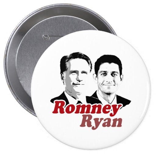 ROMNEY RYAN CONTRA RED.png Pin