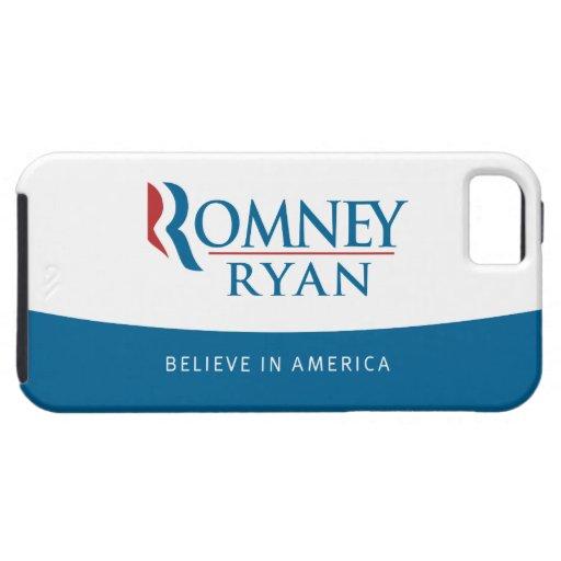 Romney Ryan cree en caso del iPhone 5 de América iPhone 5 Funda