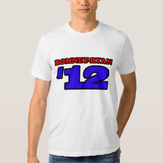 Romney Ryan de 'diseño Mitt Romney T del deporte Poleras