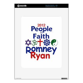 Romney Ryan Decal For iPad