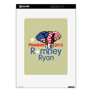 Romney Ryan Decal For iPad