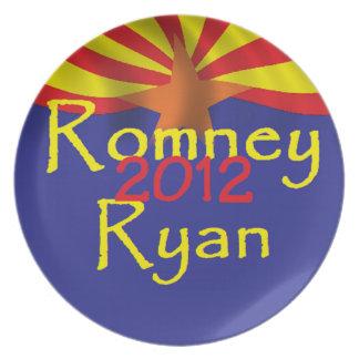 Romney Ryan Dinner Plate