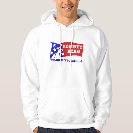 Romney Ryan Eagle Flag Hoodie