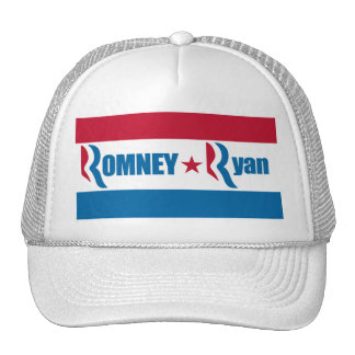 Romney Ryan Election 2012 Hats