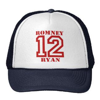 ROMNEY RYAN EN '12.png Gorro De Camionero