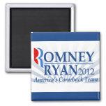 Romney Ryan, equipo de la reaparición de América Imán