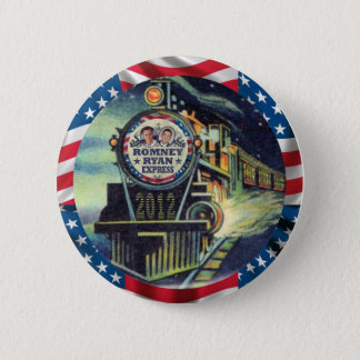 Romney Ryan Express 2012 Button