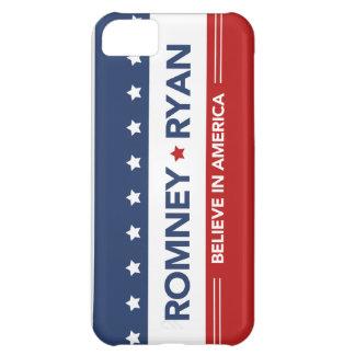 Romney Ryan Flag Case - Vertical iPhone 5C Cases