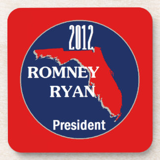 Romney Ryan FLORIDA Beverage Coaster