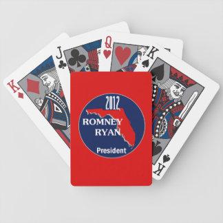 Romney Ryan FLORIDA Bicycle Playing Cards