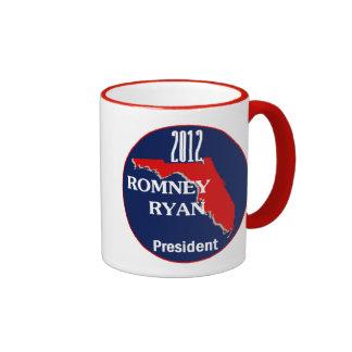 Romney Ryan FLORIDA Ringer Mug