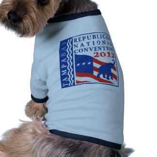 Romney Ryan For President 2012 Dog Tshirt