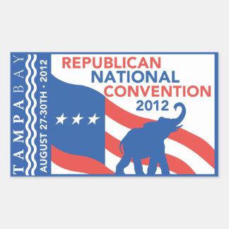 Romney Ryan For President 2012 Rectangular Sticker