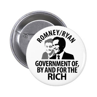 Romney, Ryan for the Rich Pin