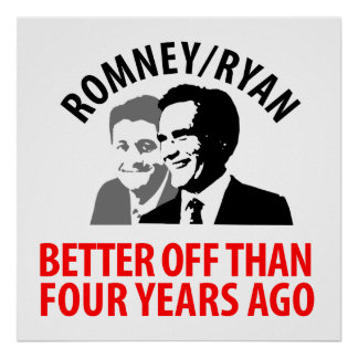 Romney, Ryan for the Rich Posters
