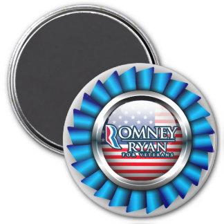 Romney Ryan For Veterans Magnets 1