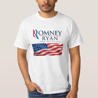 Romney Ryan For Veterans T-Shirts
