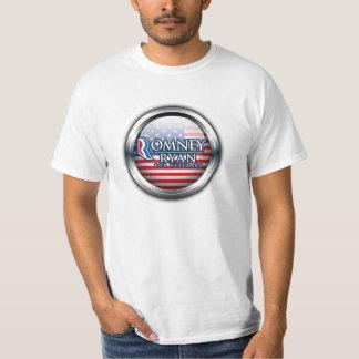 Romney Ryan For Veterans T-Shirts 2