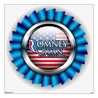 Romney Ryan For Veterans Wall Decals 1