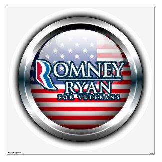 Romney Ryan For Veterans Wall Decals 2