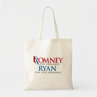 ROMNEY RYAN FOR VP LOGO png Bags