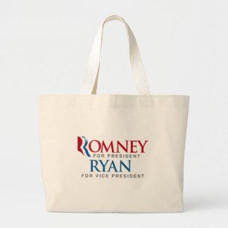 ROMNEY RYAN FOR VP LOGO png Canvas Bag
