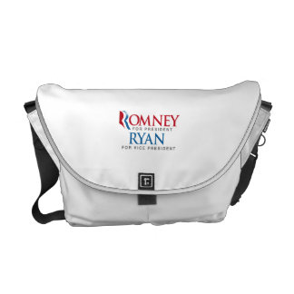 ROMNEY RYAN FOR VP LOGO png Courier Bags