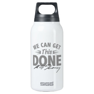Romney Ryan - Government Didn't Build My BUsiness 10 Oz Insulated SIGG Thermos Water Bottle