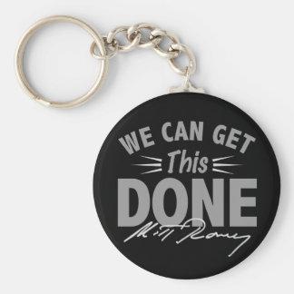Romney Ryan - Government Didn't Build My BUsiness Basic Round Button Keychain