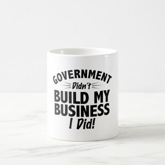 Romney Ryan - Government Didn't Build My BUsiness Coffee Mug
