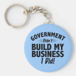 Romney Ryan - Government Didn't Build My BUsiness Key Chains