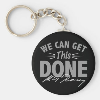 Romney Ryan - Government Didn't Build My BUsiness Keychain