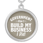 Romney Ryan - Government Didn't Build My BUsiness Custom Jewelry