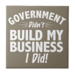 Romney Ryan - Government Didn't Build My BUsiness Tile