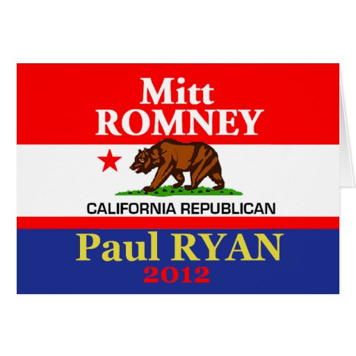 Romney Ryan Greeting Card