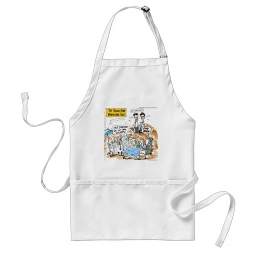 Romney/Ryan Health Care Funny Gifts & Tees Adult Apron