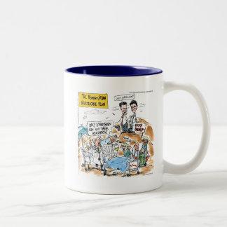 Romney/Ryan Health Care Funny Gifts & Tees Two-Tone Coffee Mug