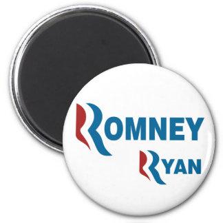 Romney - Ryan Imán Redondo 5 Cm