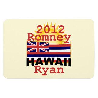 Romney Ryan Imán Foto Rectangular