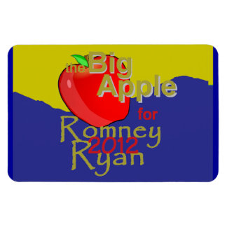 Romney Ryan Imán Rectangular