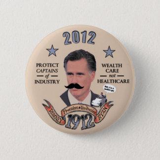 Romney & Ryan in 1912 Pinback Button