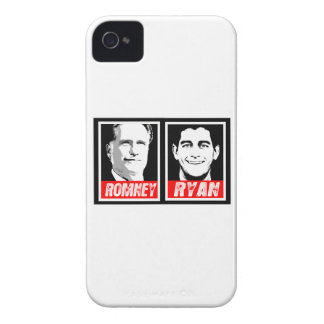 ROMNEY RYAN INK BLOCK.png iPhone 4 Cases