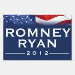 ROMNEY/RYAN intrépido muestra de 2012 yardas