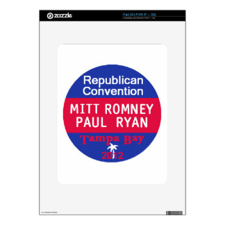 Romney Ryan iPad Skin