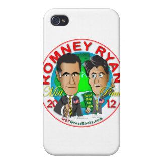Romney Ryan iPhone 4 Cases