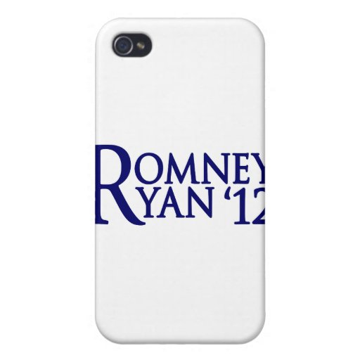 Romney Ryan Covers For iPhone 4