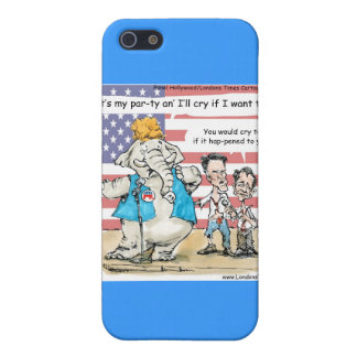 Romney & Ryan Its My Party Funny Gifts & Cards Case For iPhone SE/5/5s