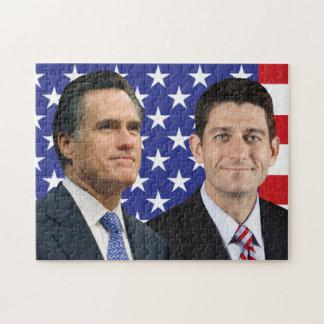 Romney Ryan Jigsaw Puzzle
