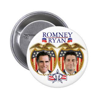 Romney Ryan Jugate 2 Inch Round Button