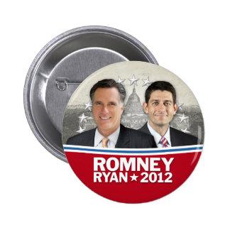 Romney Ryan - Jugate con Casa Blanca del vintage Pin